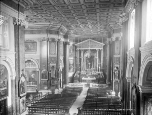 Inside of St. Francis Xavier Chapel