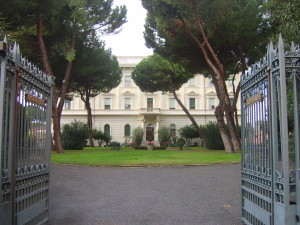 The Irish College in Rome. Image from the college's website, http://www.irishcollege.org/