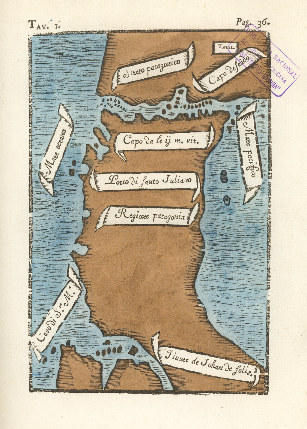 """""""The First Map of the Strait of Magellan, 1520"""" from The Journal of Magellan's Voyage. Available at the World Digital Library at http://www.wdl.org/en/item/3972/"""