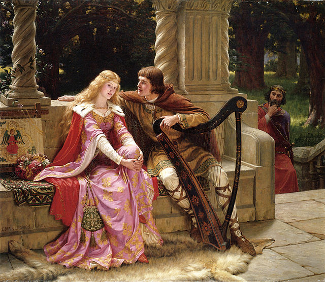 Tristan and Iseult, 1902, painting by Edmund Blair Leighton.